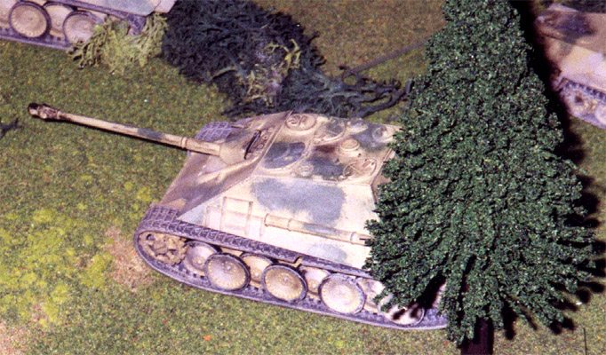 Jagdpanther Self Propelled Gun
